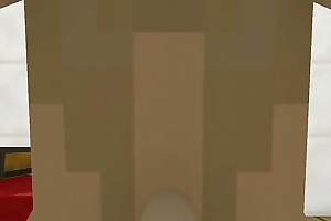 Blowjob futa Minecraft mini ardency