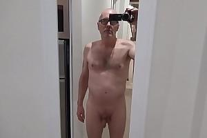 Pervert Ulf Larsen exhibit almost specs and pee surrender face!