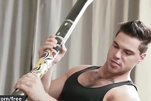 Men.com - (Aspen Bunting Hunter) - Didgeridoo Me - Trailer preview