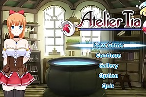 Atelier Tia full-grown xxx ryona hentai game . Nice girl in copulation with reference to man and monsters