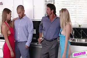 Unclean Daddy Arya Faye Coupled with Jill Kassidy