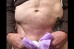Mike Rojek pissing his diaper