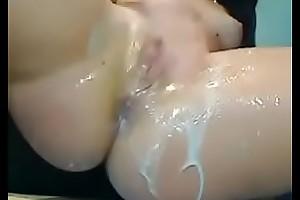Rico orgasmo masturbandose