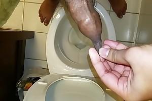 Foreskin Dripping with Cum