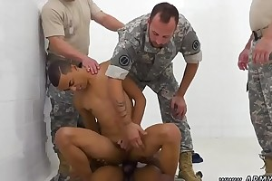 Sweaty muscled military gay R&amp_R, the Army69 like one another