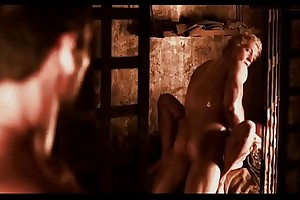 Jai Courtney - Sex Scene near Spartacus