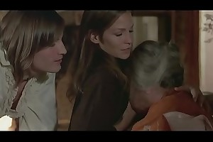 Alexandra Stewart Hatless Knockers &amp_ Breastfeeding in Black Lieutenant