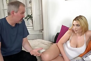 Busty cosset needs some doyen learn of - Lucia Fernandez coupled with Michael