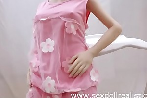 132cm Tina Irontechdoll beautiful love sex doll in like greased lightning sexdollrealistic
