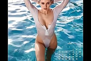 TelexPorn.com - Playboy Moll Calendar 2017