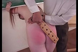 Electrocution Roleplay - Hot readhead gets punished during schoolgirl roleplay - JustBangMe.com