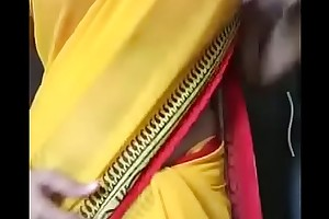 Desi tamil Gf in saree seduces BF stripping milf - desixporn.com