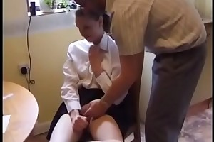 schoolgirl spanked with the addition of fucked