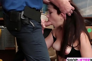 Dick Punishment For Teen Thief