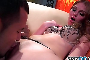 Spizoo - Watch the Beautiful Marie McCray riding a big dick, big booty
