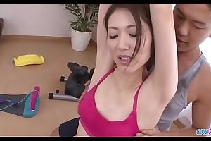 erotic yoga teacher in leotard pantyhose-Watch Part2 on oxopron.com