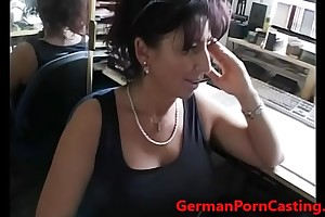 German MILF With HUge Tits Gets Fucked - GermanPornCasting.com
