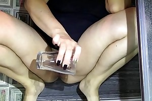 Nylons Tease. Strap-on Tease. Piss. Shake out Hotwife Venus.