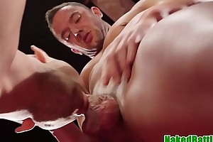 Deepthroat wrestling sub rims dominating deny stuff up