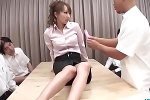 Stunning porn scenes along insolent Anna Mizukawa - More at one's disposal JavHD.net