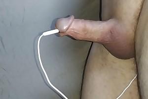estim cum hands free tiny gumshoe