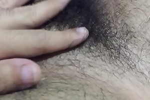 Alisando os pentelhos