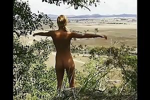 A Hot Glum Teen Ecumenical Naked Nude Walk In The Jungle