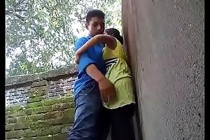 coupling fucked in outdoor-mc