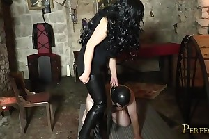 At one's disposal be passed on Clemency be useful to Mistress Pandora - Sissified Possession from Czech Dominatrix