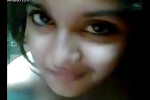 Very uncompromisingly cute girl selfi desi gf