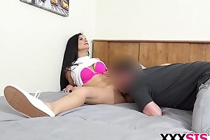 Gorgeous stepsis Alexis Missionary gets drilled good