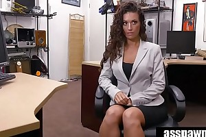 Real Spycam Sex: Victoria Banxxx Trades Sex For a Laptop