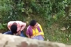 Indian coupling caught more than fusty camera