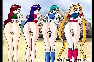 Famous anime lesbian orgies