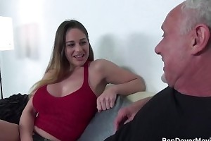 Cathy The heavens fucking with Grandad Ben Dover