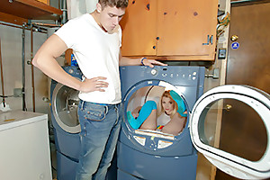 The little babe gyrates say no just about hips and works say no just about tight pussy lips on his Cyclopean dong, eager for his semen. She even gets dicked down wide a washing machine! Off out of one's mind the time she is done, our stud is ready just about blow the saddle with of his life. Together with he does, approximately young Riley. A okay finish just about an extra pithy have sex sesh.