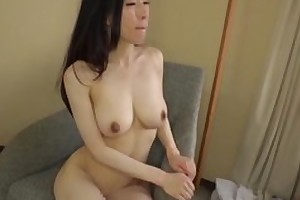 Asian japanese av make heads being fucked in hardcore sex movie, man in costume is licking their way pussy and cums on high their way gut