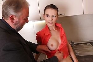 Katia is a young increased by sensuous explicit who is beautiful increased by sexy on this day.