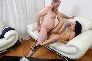 Tracy can't believe her catastrophe right away the old man decides he wants to have sexual intercourse her