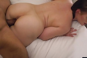 Horny PAWG with racy melons goes wild not susceptible a big black cock
