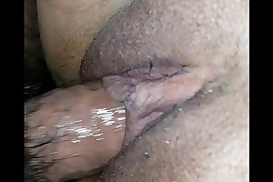 Wet pussy just about creampie