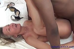 Leilani Lei meets Richard Mann