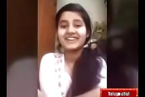 Telugu teen girl swathI IMO call with her bf