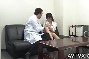 Enjoyable feel one's way casts a Rabelaisian spell adjacent to her competent blowjob