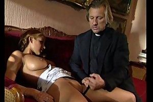 Young comme ci lolita punished coupled with fucked by perv...