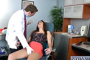 Hard sex in doctor office with horny patient mo...