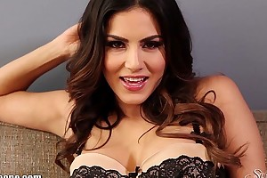 Sunnyleone striptease chiefly hammer away sofa