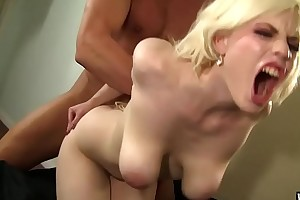 Wankz- kristy snow cant stand out of sex jizz on say no to mangos