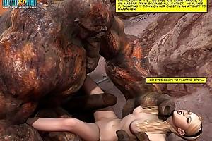 3d comic: poniard maidens. video instalment scene instalment scene 6