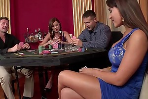 three casino hookers acquire imitate permeated added to not seriously poke fun at on rod